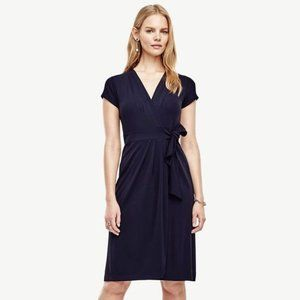 NWT❣️Ann Taylor Petite Pleated Wrap Dress